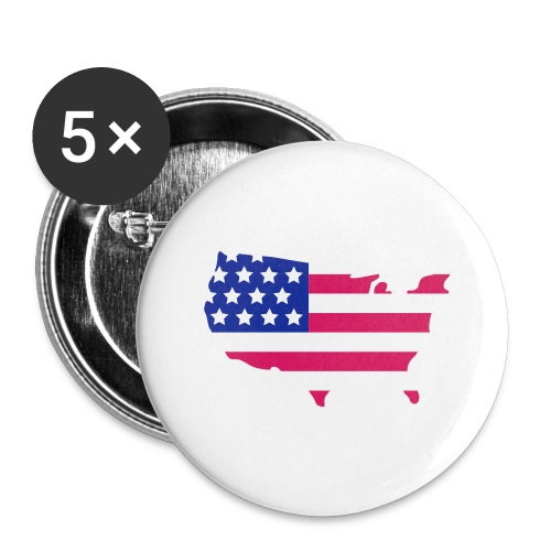Badge petit USA - Badge petit 25 mm