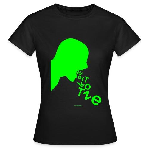 Wortkotze - Frauen - Frauen T-Shirt