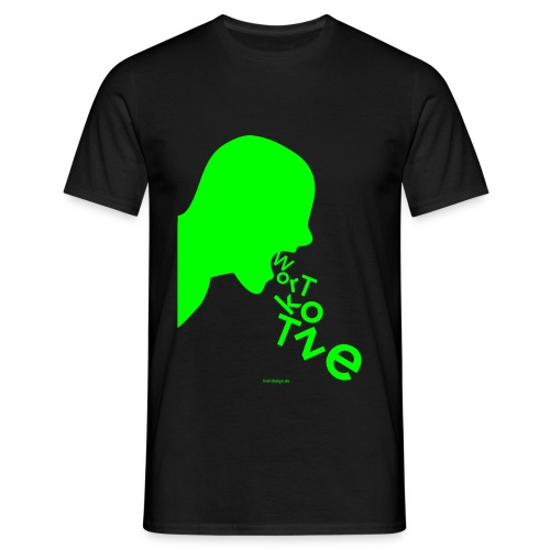 Wortkotze - Männer - Männer T-Shirt