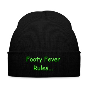 Footy Rules Beenie Hat - Winter Hat
