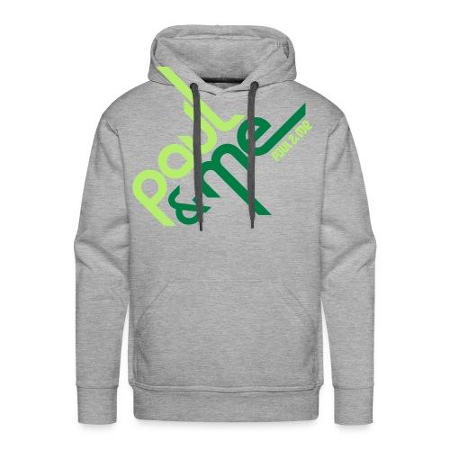 P&M Kapuzen-Sweatshirt 45grad Limited 50 - Männer Premium Hoodie