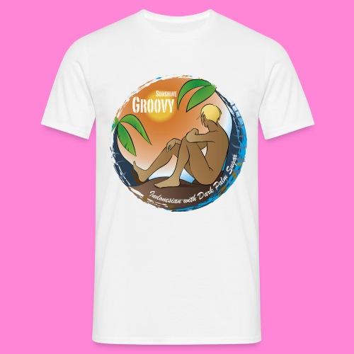 Sunshine groovy - Mannen T-shirt