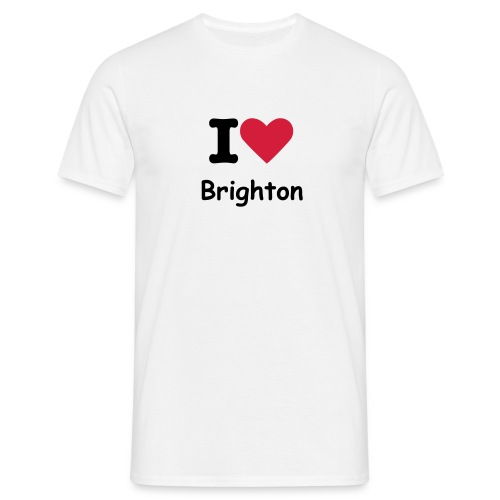 I Luv Brighton - Men's T-Shirt