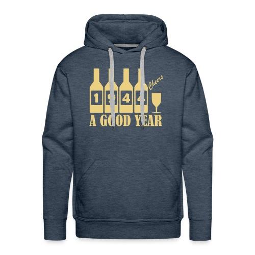 1944 Birthday sweatshirt - A Good Year - Men's Premium Hoodie