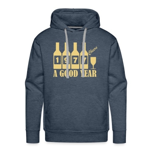 1977 Birthday sweatshirt - A Good Year - Men's Premium Hoodie