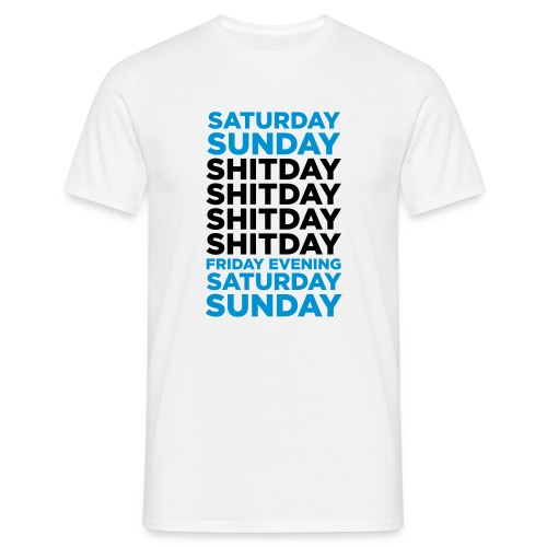 The Week Shirt - Men's T-Shirt