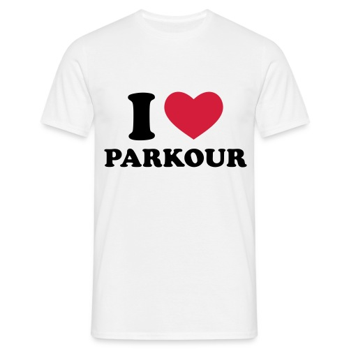 I love parkour - T-shirt Homme