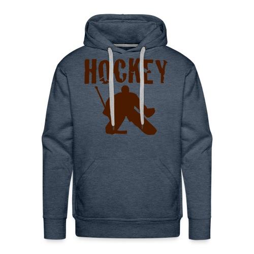 Hockey - Kapuzenshirt - Männer Premium Hoodie