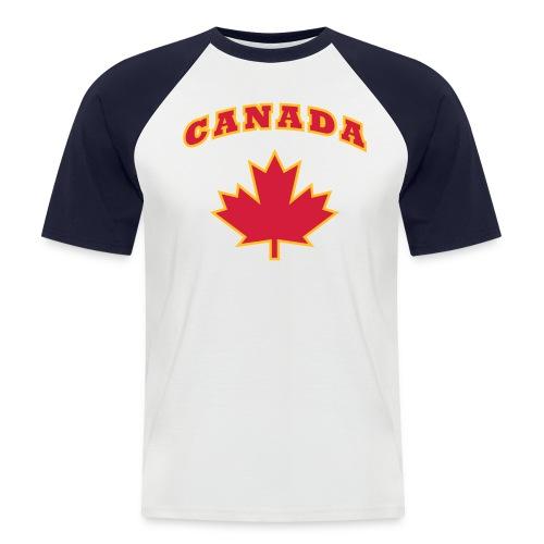 Canada - Shirt - Männer Baseball-T-Shirt