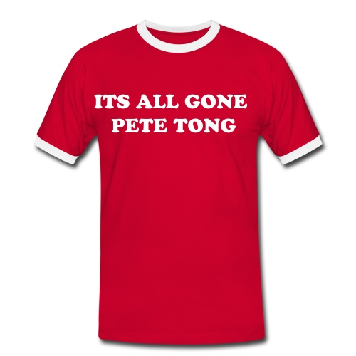 PETE TONG - Men's Ringer Shirt