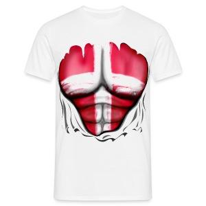 Fanshirt Dänemark - Männer T-Shirt