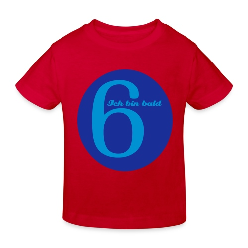 Bald 6-Shirt - Kinder Bio-T-Shirt
