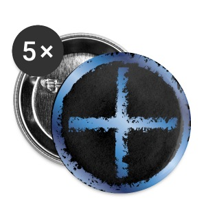Tropical Plus black - Buttons small 25 mm