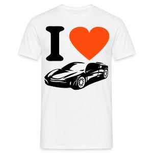 I love Cars - Mannen T-shirt