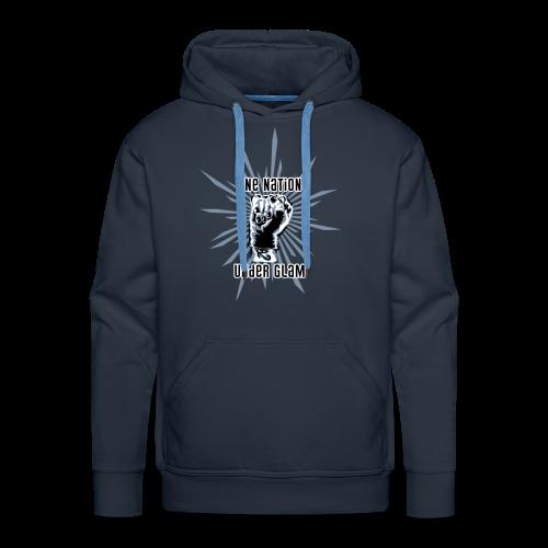 Propaganda-Silver - Men's Premium Hoodie