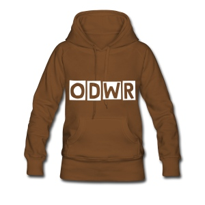 Womens Hoodie (change the colour and song lyrics) - Women's Premium Hoodie