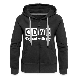 Womens Hoodie (change the colour and song lyrics) - Women's Premium Hooded Jacket