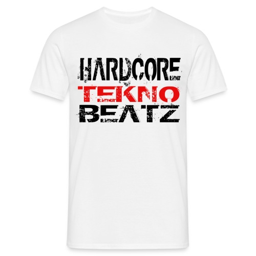 Mens  tekno beatz t-shirt - Men's T-Shirt