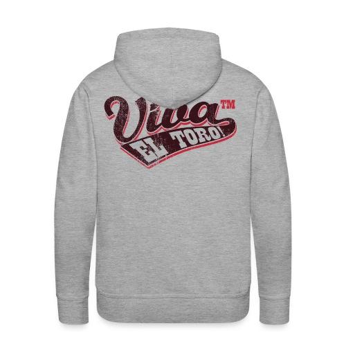 VIVA EL TORO! Flag Logo - Men's Premium Hoodie