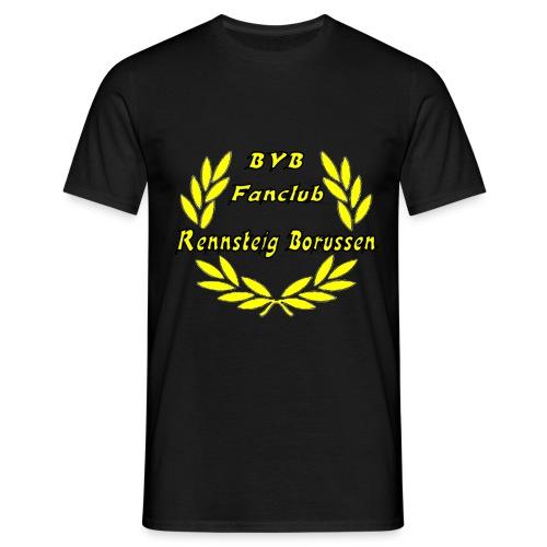 T-Shirt Mann Black Druck Vorne Variante 2 - Männer T-Shirt