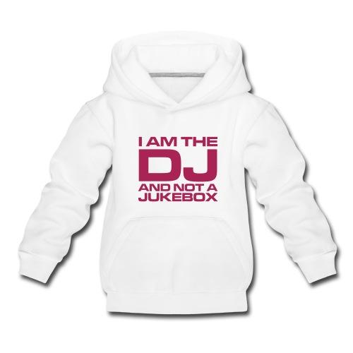I'm the DJ - Kinderen trui Premium met capuchon