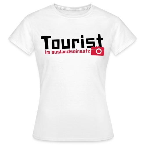 Frauen Shirt - Auslandseinsatz - Frauen T-Shirt