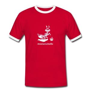 Fotografen Retro-Shirt. Ameisenscheiße - Männer Kontrast-T-Shirt