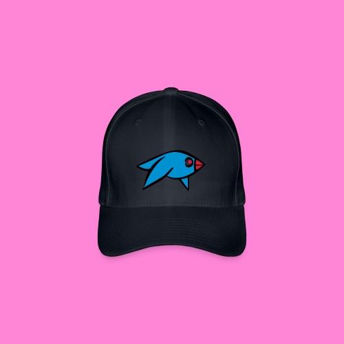 Funny Bluebird pet - Flexfit baseballcap