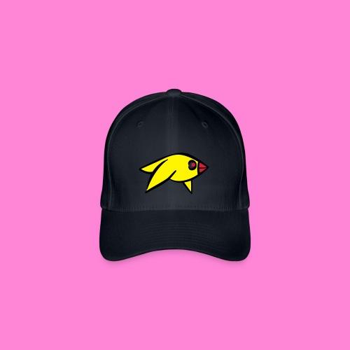 Funny yellowbird pet green - Flexfit baseballcap