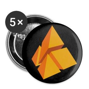 polyamke Button orange - Buttons small 25 mm