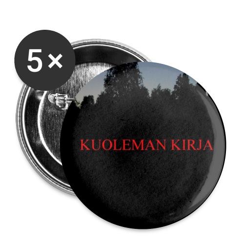 Kuoleman Kirja - Rintamerkit pienet 25 mm