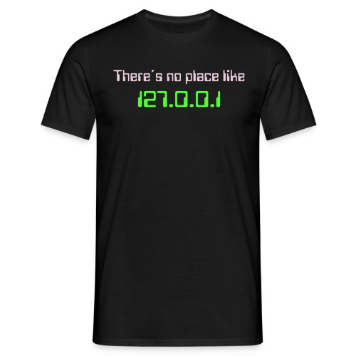 There´s no place like home - T-shirt herr