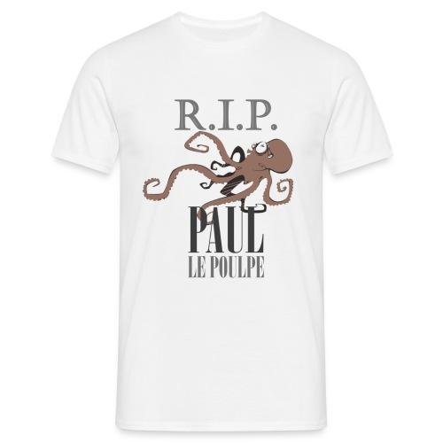 NEW! Paul le Poulpe R.I.P. t-shirt homme - T-shirt Homme