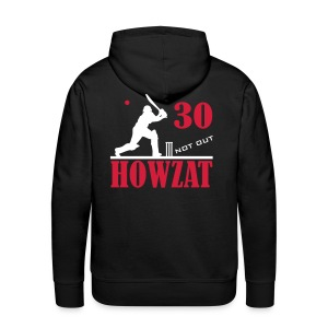 30 not out - HOWZAT!! - Men's Premium Hoodie