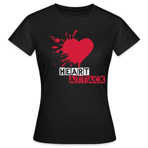 Heart Attack Girlie Shirt - Frauen T-Shirt