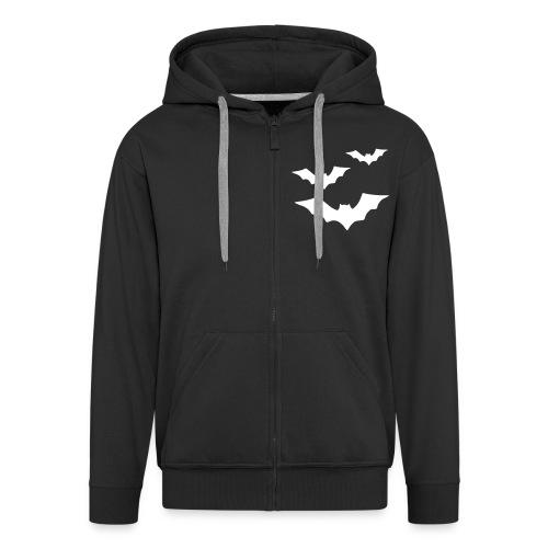 Bats Weste - Männer Premium Kapuzenjacke