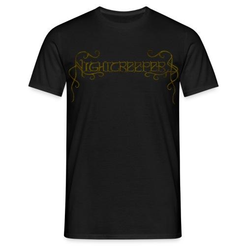 Nightcreepers ocher branches - Men's T-Shirt