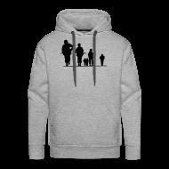Pullover & Hoodies ~ Männer Premium Kapuzenpullover ~ Artikelnummer 14157710