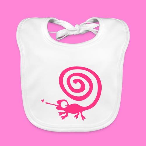 Kameleon girl - Bio-slabbetje voor baby's