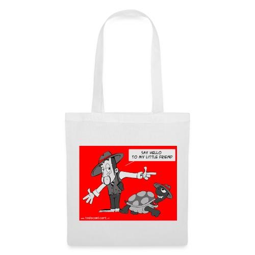 Gangsta&Turtle tas - Tas van stof