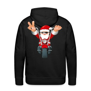 Biker Christmas - Men's Premium Hoodie