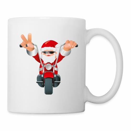 Biker Christmas Mug - Mug