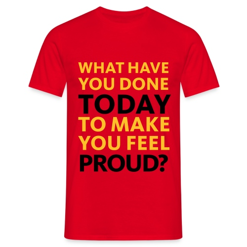 what have you done? - Herre-T-shirt