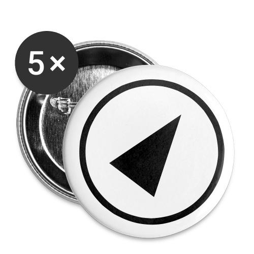 GPS-Zeiger Button - Buttons klein 25 mm