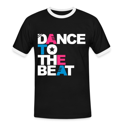 Dance to the beat black - T-shirt contrasté Homme