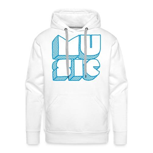 Music Lilou - Sweat-shirt à capuche Premium pour hommes