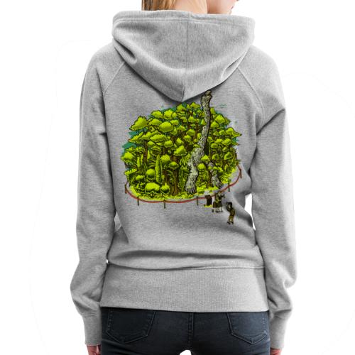 Peachbeach Riesenschildkröte Hoodie - Frauen Premium Hoodie