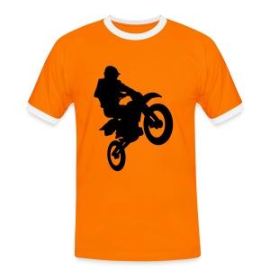 cross team holland - Mannen contrastshirt