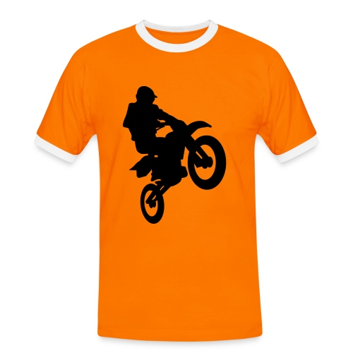cross team holland - Mannen contrastshirt