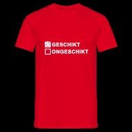 T-shirts ~ Mannen T-shirt ~ Geschikt - heren klassiek
